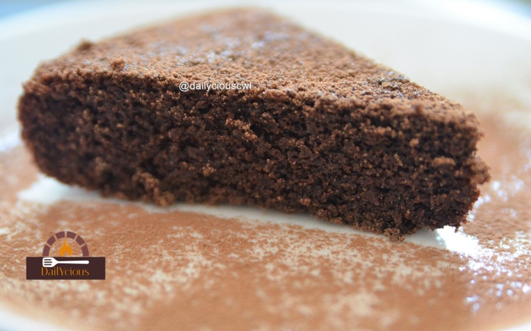 Almond flour chocolate cake1